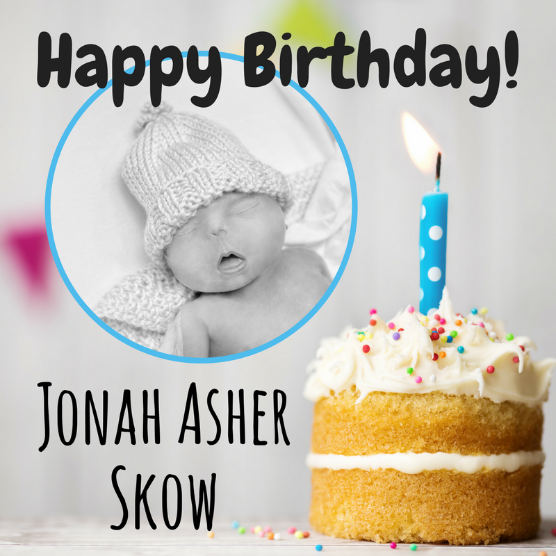Happy Birthday, Jonah!